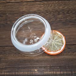 Крышка стеклянная 8,5 см для чайника, стакана с двойными стенками, графина
