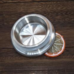 Крышка металлическая 8,5 см для чайника, стакана с двойными стенками, графина