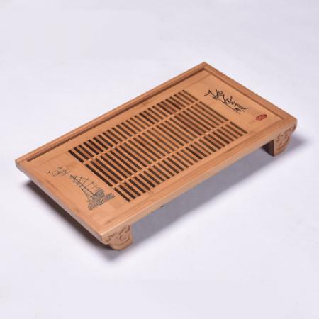 Чабань (чайный столик, чайная доска) Бамбук 50*29*6.5 см