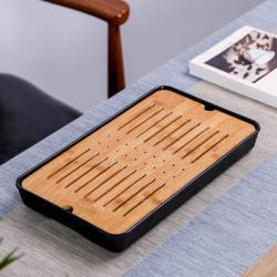 Чабань (чайный столик, чайная доска) черного цвета № 1915