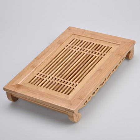 Чабань (чайный столик, чайная доска) Бамбук 40*28*7 см