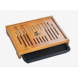 Чабань (чайный столик, чайная доска) Бамбук №1919 (33*25*5 см)