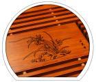 Чабань (чайный столик, чайная доска) Дерево 43*28*6 см №1904