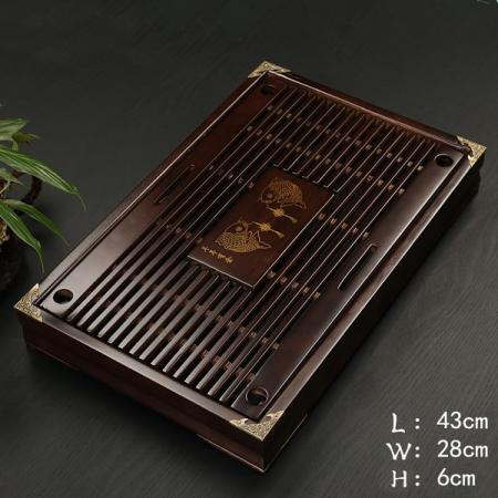 Чабань (чайный столик, чайная доска) Дерево 43*28*6 см №1901