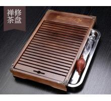 Чабань (чайный столик, чайная доска) Дерево 43*28*6 см № 1910