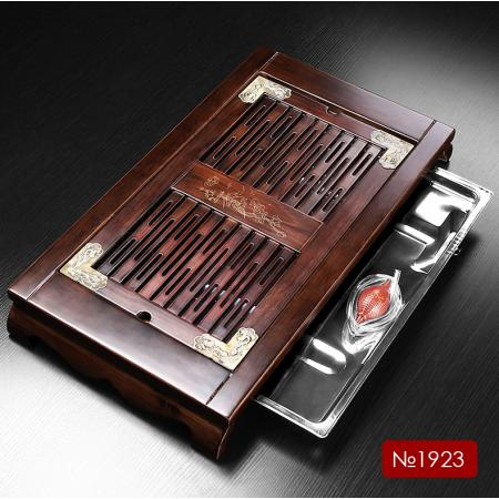 Чабань (чайный столик, чайная доска) Дерево 65*34*7 см № 1923