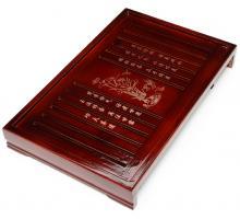 Чабань (чайный столик, чайная доска) Дерево (груша) 43*28*6 см № 1907