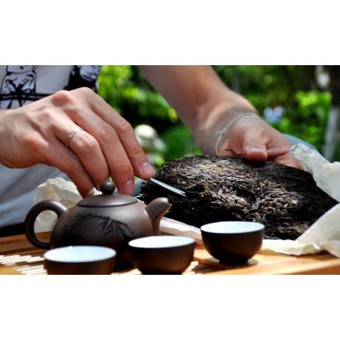 Как производят чай пуэр