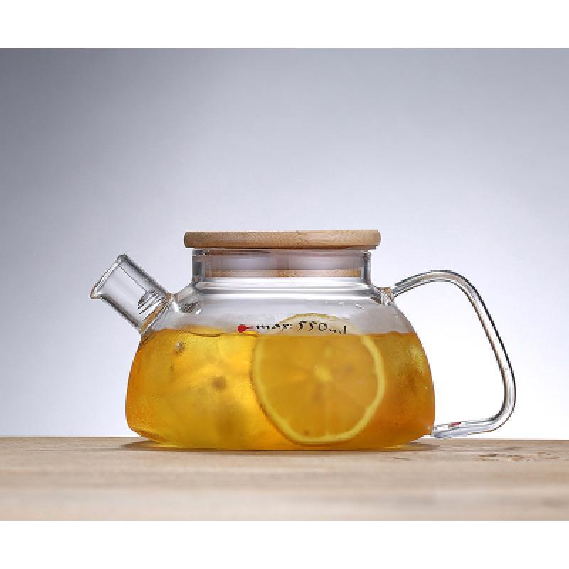 Заварочный стеклянный чайник для чая и кофе 800 ml (Cofee and tea ...   800x800