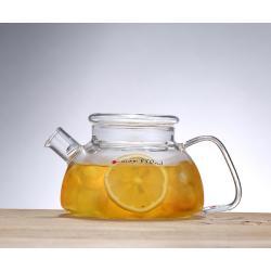 Заварочный стеклянный чайник 700 мл со стеклянной крышкой