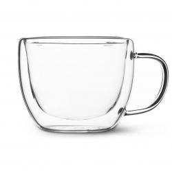 Стеклянная чашка с двойными стенками 250 мл