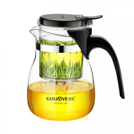 Заварочный чайник с кнопкой Типод (типот, изипот)  Kamjove TP-757 700 мл
