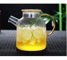 Заварочный стеклянный чайник 800 мл №1821