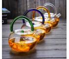 Заварочный стеклянный чайник из жаропрочного стекла на 780 мл