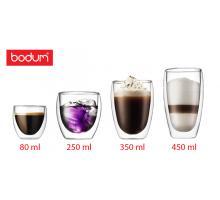 Стеклянные стаканы с двойными стенками  Bodum (Качественная реплика)