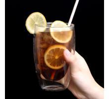 Стеклянные стаканы с двойными стенками  Bodum (Качественная реплика) 450 мл