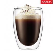 Стеклянный стакан с двойными стенками  Bodum (Качественная реплика) 350 мл