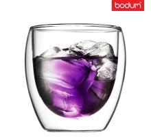 Стеклянный стакан с двойными стенками  Bodum (Качественная реплика) 250 мл
