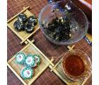 Пуэр Шу «Дун Гуа Хэ Е Сяо Точа», пуэр с зимней дыней и листьями лотоса, Мин Кан №22