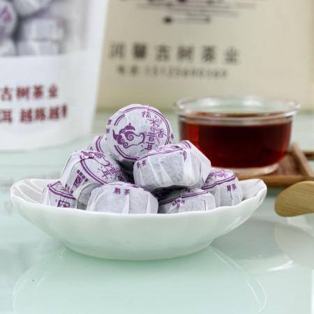 Пуэр Шу «Номисян Сяо Точа», пуэр с клейким рисом, Мин Кан №27