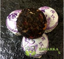 Пуэр Шу «Но Мэй Сяо Точа», пуэр с клейким рисом и розой, Мин Кан №16