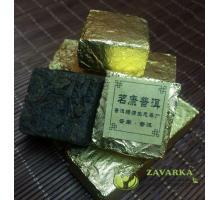 Пуэр Шу «Золотой кубик», Мин Кан №8