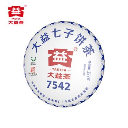 Пуэр Шен Мэнхай Да И 7542 партия 1801, 2018 год, 357 грамм. Оригинал.