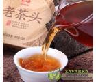 """Пуэр Шу Мэнхай Да И """"Лао Ча Тоу"""" (Старые чайные головы), партия 1401, 2014 год, 100 грамм. Оригинал."""