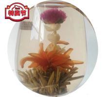 """Связанный чай """"Золотой дракон"""" (Шарик зеленого чая с цветком гомфрены, лилии и жасмина)"""